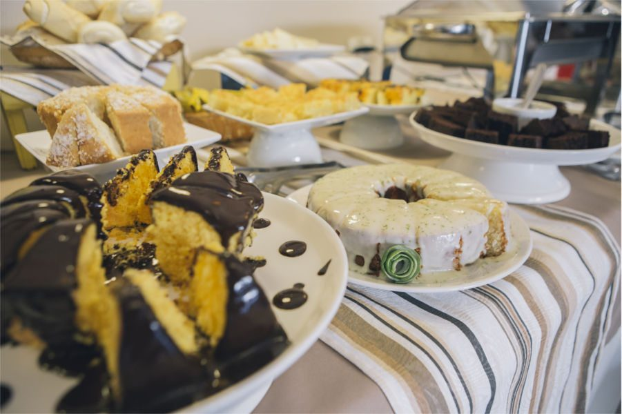 Cafe Da Manha Pousada Porto Mare - Maresias